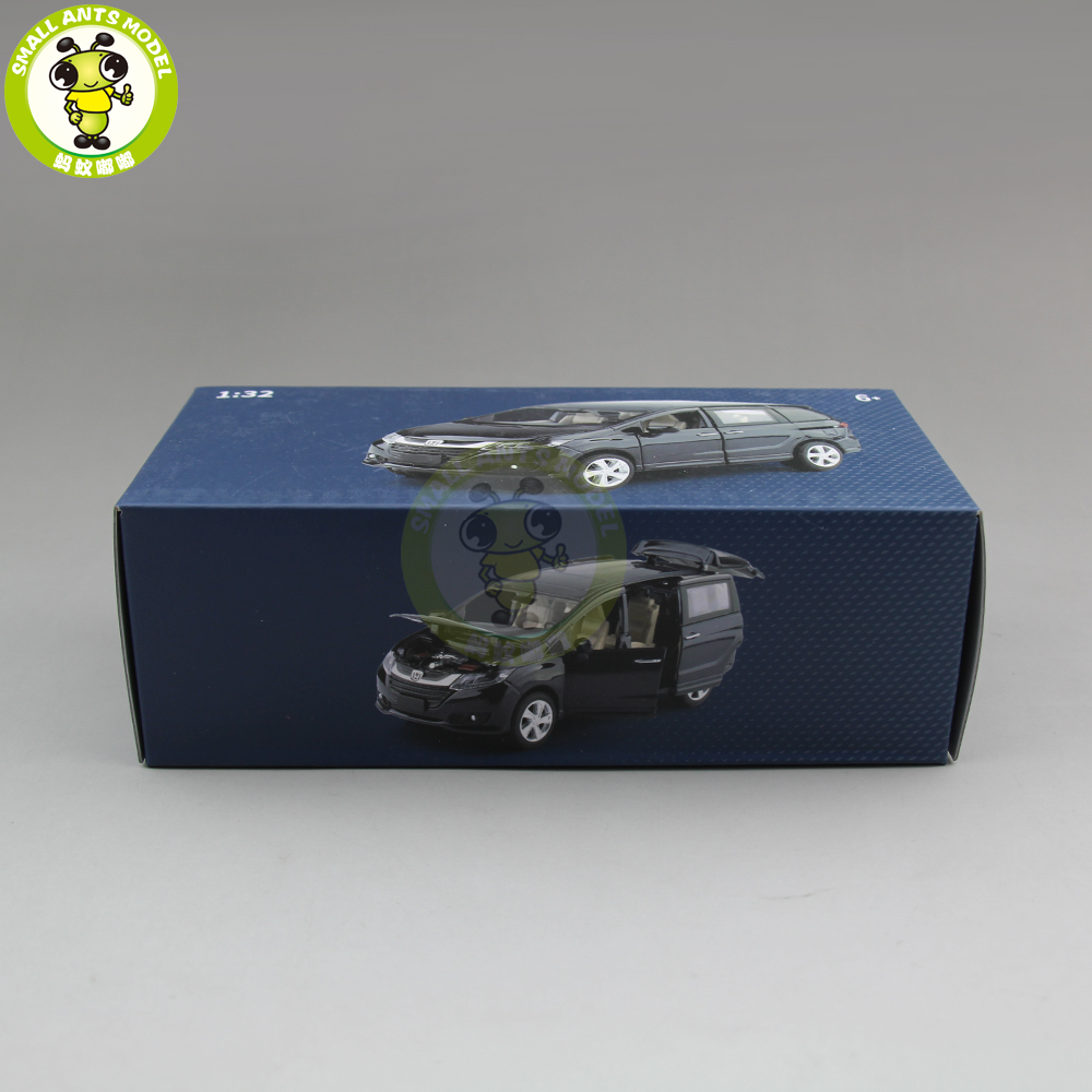 1/32 Honda Odyssey MPV Diecast Metal Model CAR Toys for kids children Sound Lighting Pull Back gifts collection hobby