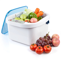Househoul 12.8L Automatic Ultrasonic cleaner Ozone sterilizer for fruit/vegetable/dinner dish/baby item cleaning machine