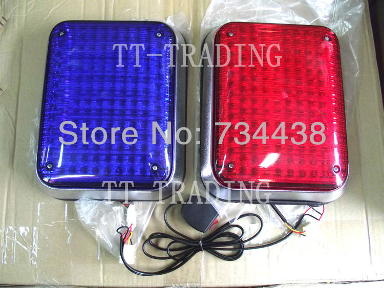 268 led high bright ambulance strobe lights police warning light security booth light guard booth flashing light red blue amber 8led bright led solar powered traffic warning light barricade lights strobe tower warning lights road cone