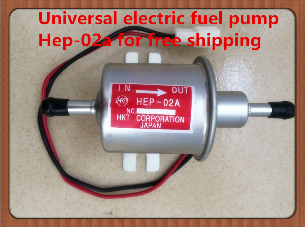 Universal diesel petrol gasoline 12v electric fuel pump HEP 02A low pressure For most font b