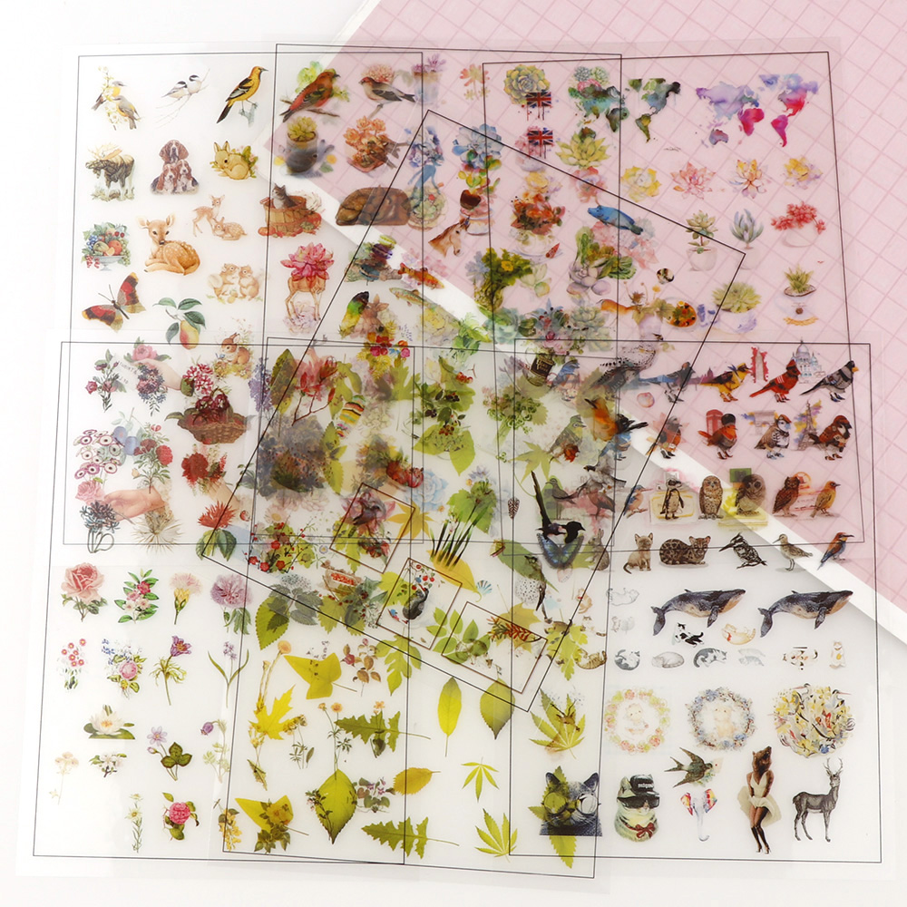 New Mix Flowers Plant Birds 5pc Transparent Material With Use Of Epoxy Mold Making Tool Filling For DIY Jewelry