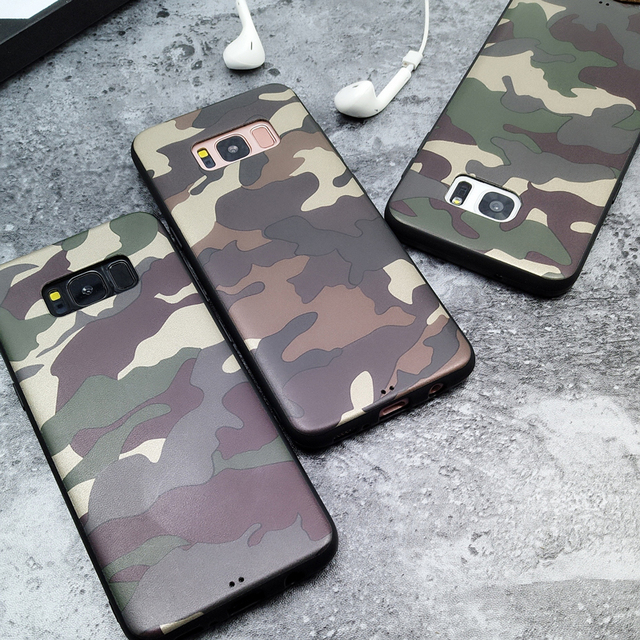 the latest 69ed3 feae1 US $1.59 15% OFF|BINYEAE For Samsung Galaxy Note 8 Case Silicone Army Camo  Camouflage Soft TPU Back Cover For Samsung Galaxy Note 9 S8 Plus Case-in ...