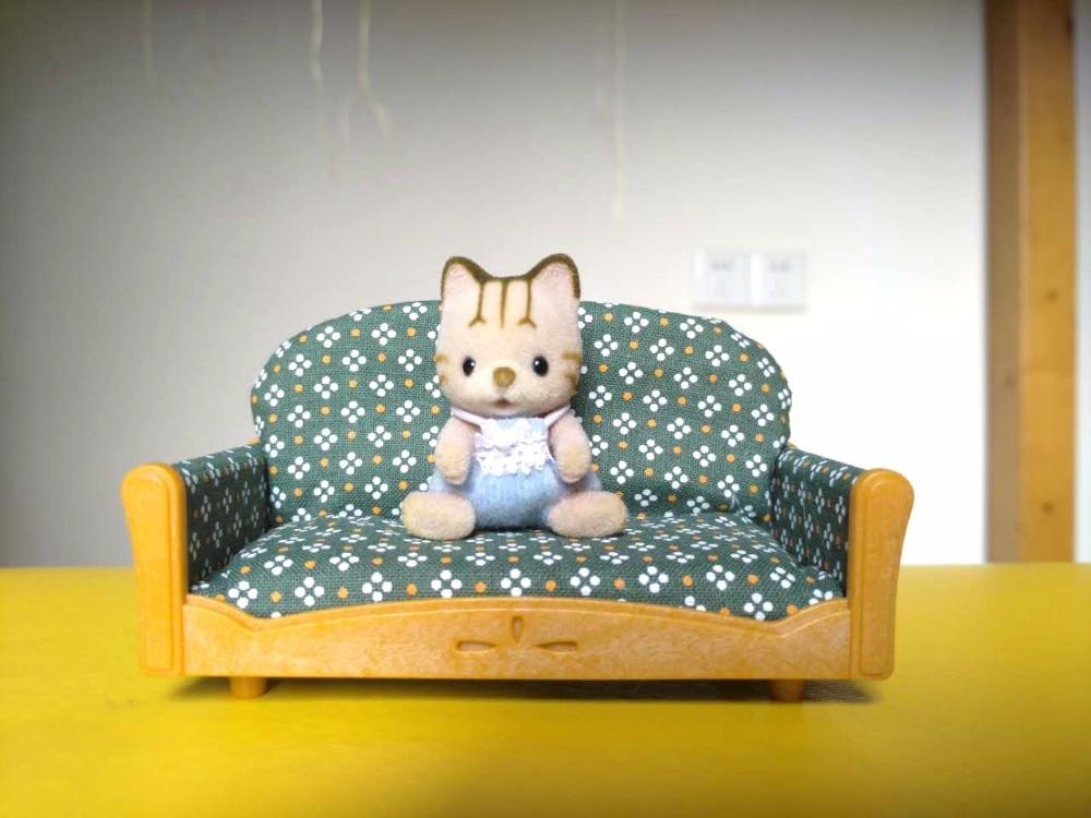 Sylvanian Family mini Couch sofa mini size furniture mini figure pretend toy children gift