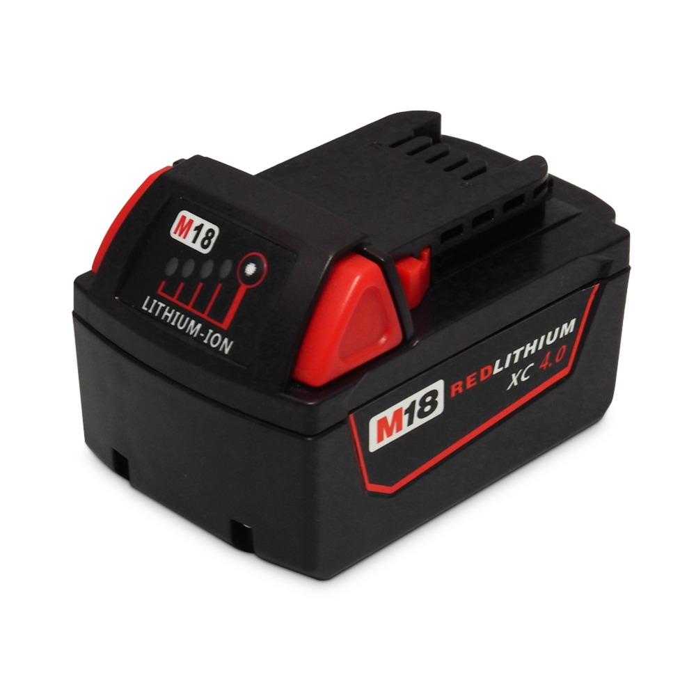 NEW M18 18V 5000mAh Li-ion Battery For Milwaukee M18 48-11-1828 48-11-1840 18V 4A Electrical Drill lithium-ion Battery power tool accessory lithium ion battery charger 14 4v 18v for milwaukee c18c c1418c 48 11 1815 1828 1840 m18 m14 serise parts