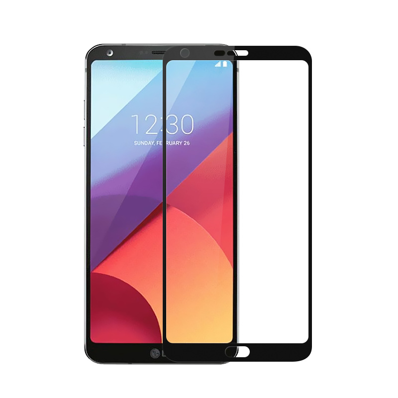 For Lg Q6 Tempered Glass For Lg Q6 Full Coverage Tempered Glass Screen Protector on Q 6 Plus Q6Plus M700A M700 Q6a Alpha