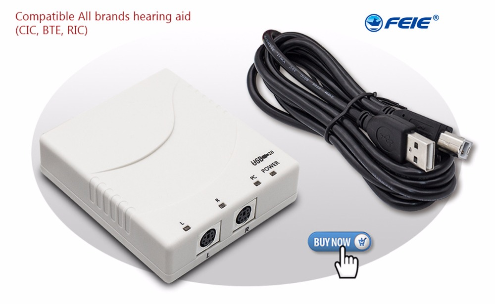 2019 on Promotional price Digital Hearing Aid Programmer mini PRO USB Compatible for All Brands Hearing