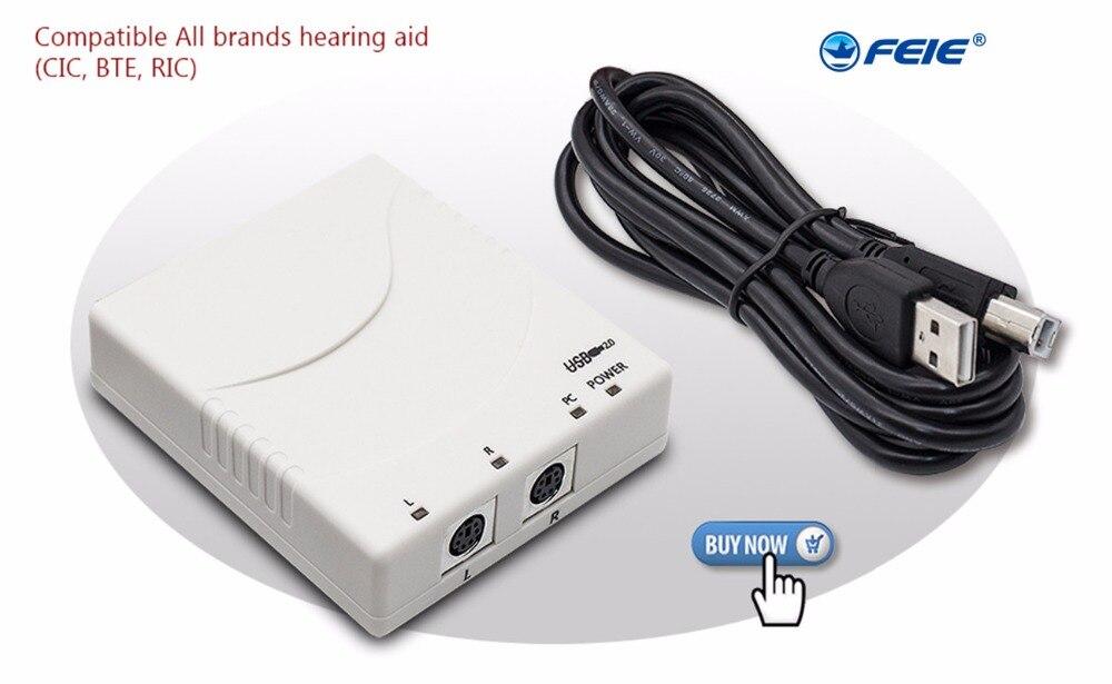 2018 по акционной цене! Цифровой слуховой аппарат программист mini PRO USB совместимый для всех брендов слуховые аппараты бесплатная программы ко...