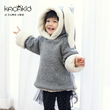 Kacakid-winter-cute-baby-girls-thickening-clothes-kids-plus-velvet-zipper-cotton-Hoodies-children-long-ears-rabbit-Sweatshirts-1