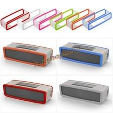 Capa tpu de silicone macio para alto falante, bolsa protetora para caixa de som bluetooth e gel de sílica
