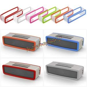Image 1 - Yeni Moda TPU Yumuşak silikon kılıf Bose SoundLink Mini bluetooth hoparlör Silika jel Koruma Seyahat Çantası hoparlör kutusu