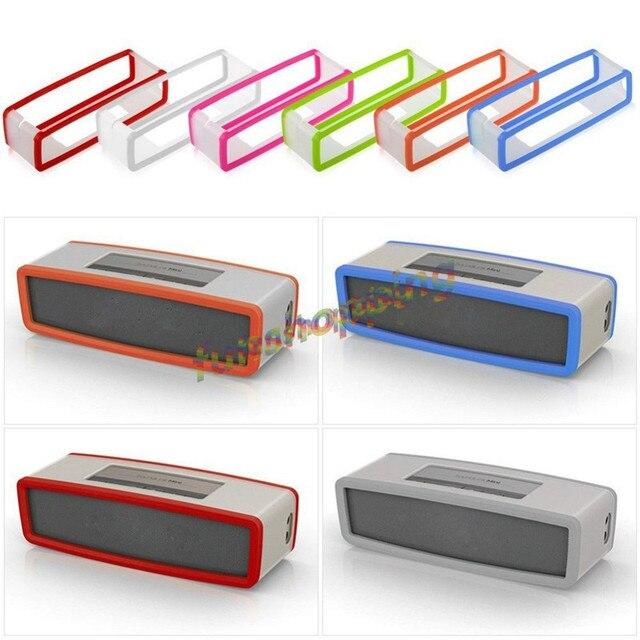 Yeni Moda TPU Yumuşak silikon kılıf Bose SoundLink Mini bluetooth hoparlör Silika jel Koruma Seyahat Çantası hoparlör kutusu