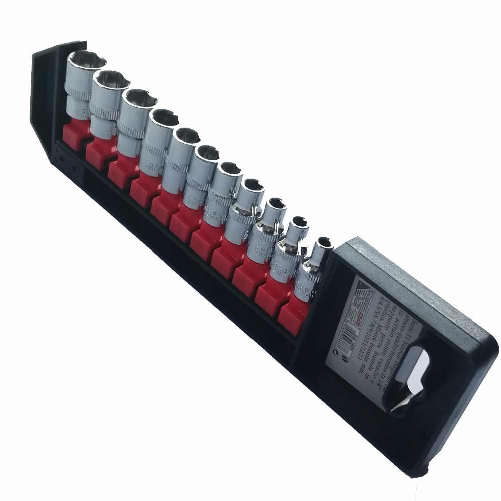 """HUAFENG GROTE PIJL 11 ST 1/4 """"Socket Set Hand Tool Set 4mm-13mm"""