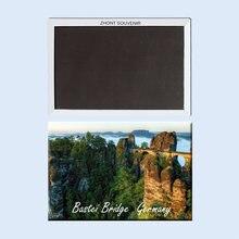 Bastei мост Германия пейзаж 22541 магнитный холодильник подарки