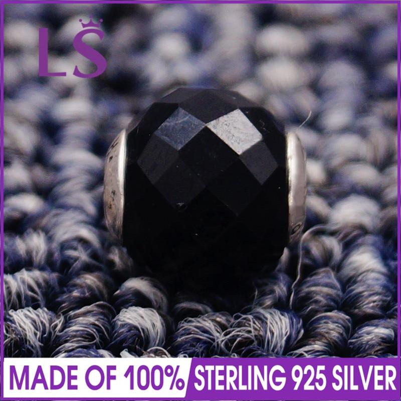 LS High Quality 100% S925 Silver Essence Strength Charm Beads Fit Original Essence Bracelets Pulseira Essencia.Fine Jewlery J
