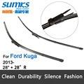 """Escovas para Ford Kuga (a partir de 2013) 28 """"+ 28"""" R fit pinch tab tipo braços do limpador apenas HY-017"""