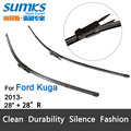 "Wiper blades for Ford Kuga (from 2013 onwards) 28""+28""R fit pinch tab type wiper arms only HY-017"