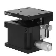 цена на 60*60*50mm SEMZA-60 Trimming Platform Slide Table Fine Tuning Bearing Vertical Linear Stage linear rails geleiderail