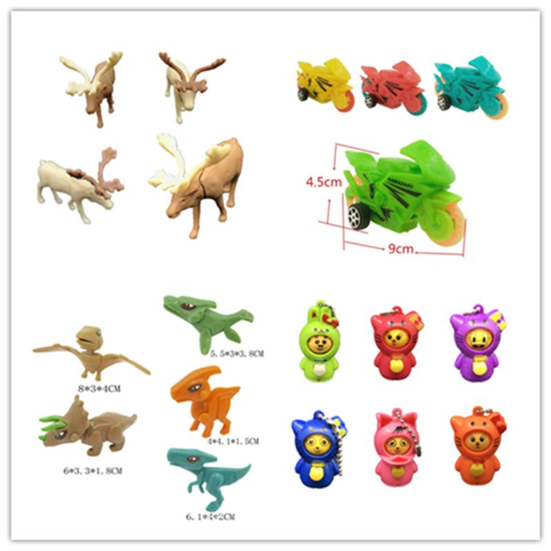 6PCS Novelty Gag Toys Ball Surprise Egg Suprise Doll Toys Gashapon Kids Toy Gift in Gags Practical Jokes from Toys Hobbies