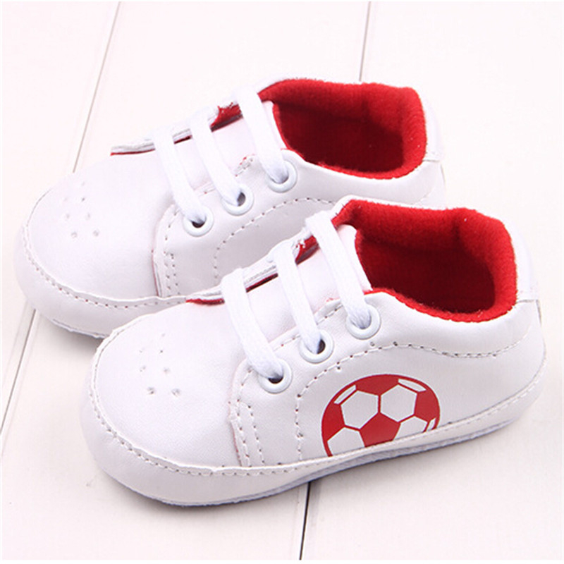Autum Infant Baby Girls Shoes PU Leather Sports Shoe Soccer Sneakers Toddler prewalker Baby footwear anti-slip first walker
