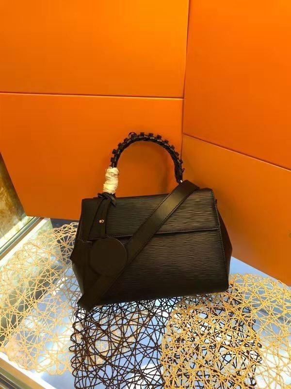 Top sac à bandoulière en cuir véritable sac de luxe de haute qualité mode noir sac à bandoulière femmes