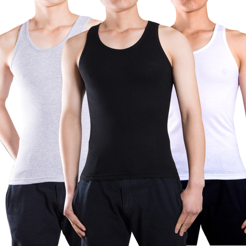 Men   Tank     Tops   Underwear Mens Undershirt Transparent Shirts Male Bodyshaper Fitness Wrestling Singlets Comfortable Wear 2019 SA-8