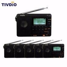 6 UNIDS TIVDIO FM/AM/SW Radio de Recepción de radio Reproductor de MP3 Grabador REC Con Temporizador de Apagado/Búsqueda automática/Radio FM Tienda F9205A