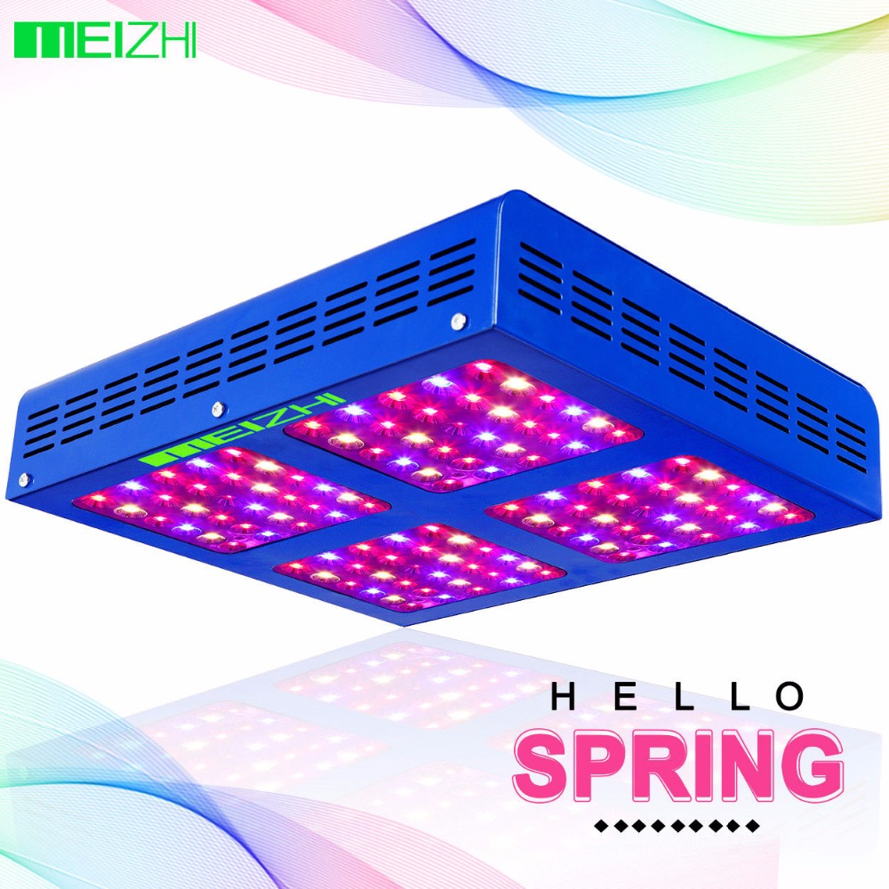 MEIZHI Reflector 600W LED Grow Light Full Spectrum Veg Bloom Hydroponics LED for Plants 200w full spectrum led grow lights led lighting for hydroponic indoor medicinal plants growth and flowering grow tent