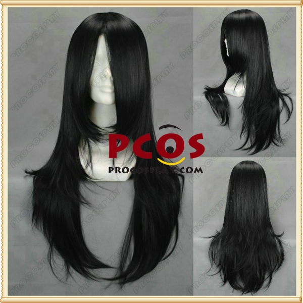 Alice Madness Returns Alice Cosplay Black Wig 65CM mp000379