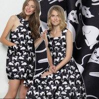 140cm stretch silk satin fabric material 19 momme shirt dress silk fabric fox print fabric satin wholesale silk cloth