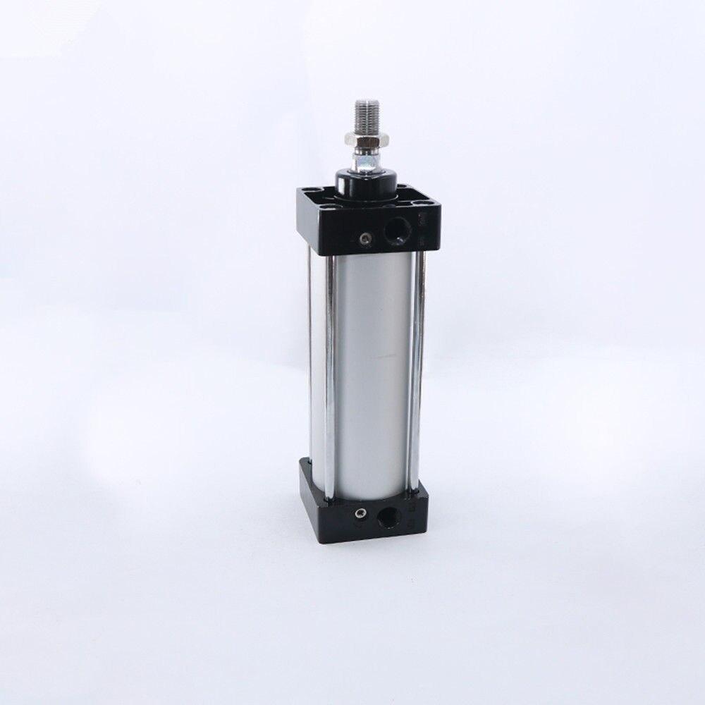 1PC SC50 x 25-450mm 50mm Bore Stroke Screwed Piston Rod Action Air Cylinder1PC SC50 x 25-450mm 50mm Bore Stroke Screwed Piston Rod Action Air Cylinder