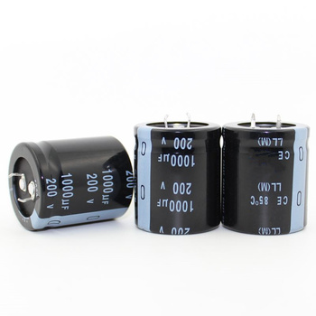 1 шт. R606 хорошее качество 200v1000uf радиальные DIP Алюминиевые Электролитические Конденсаторы 200 в 1000 мкФ допуск 20% размер 30x35 мм 20%