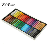 KiWarm Hot Selling 50 Colors Oil Pastels Set Soft Pastel Crayons Drawing Pens For Student Stationery