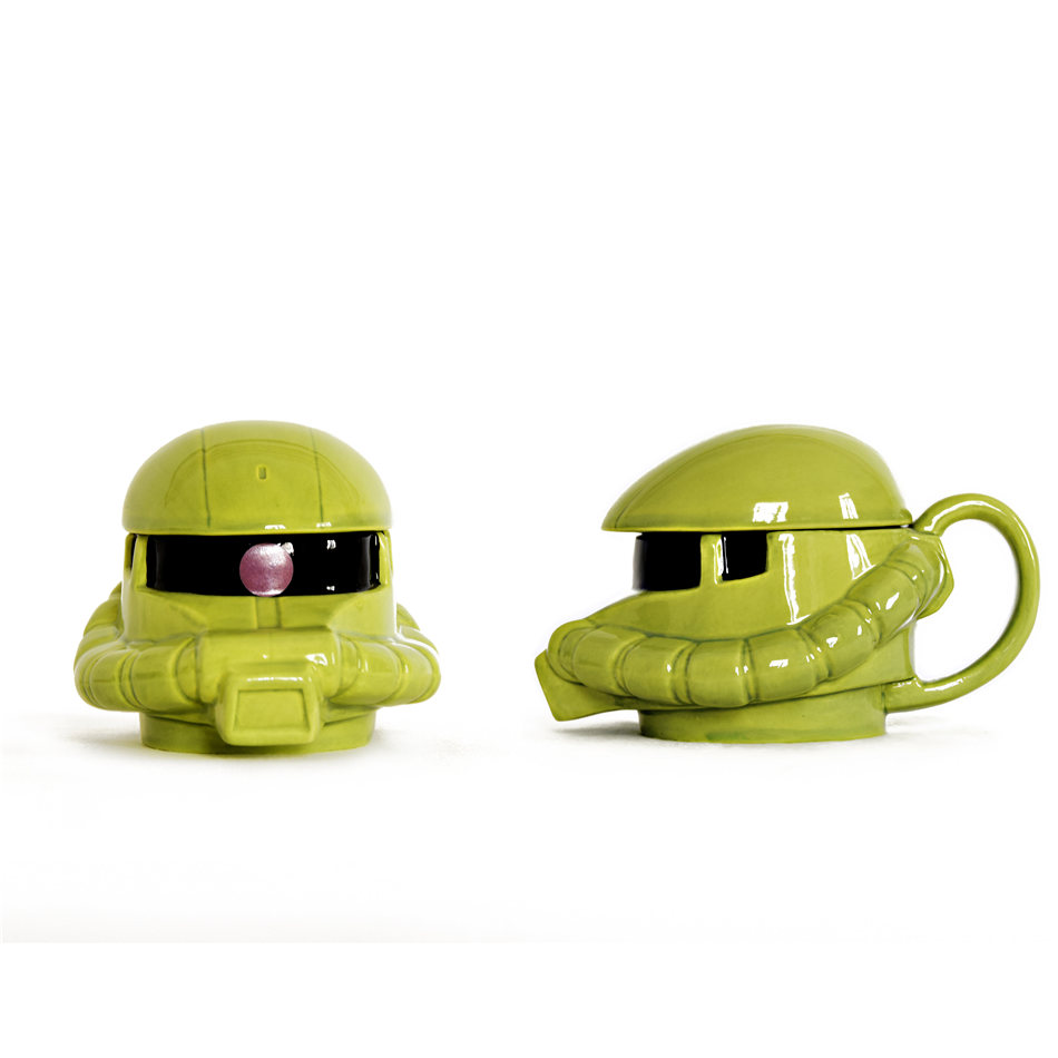 Limited number of generations Bandai Gundam cup creative trend ceramic mug cartoon coffee cup to give boyfriend gift