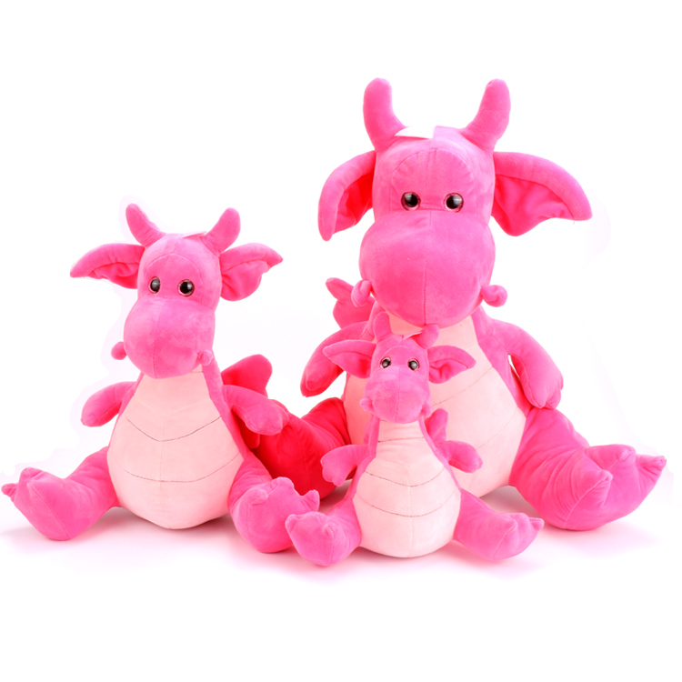 Pink Stuffed Dinosaur Plush Toy Plush Dinosaur Stuffed Animal Dinosaur Toy for Baby Girl Boy Kids Birthday Gifts