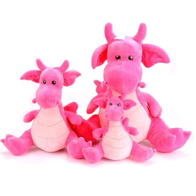 Pink Stuffed Dinosaur Plush Toy Plush Dinosaur Stuffed Animal