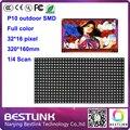 Оптовая светодиодный модуль p10 открытый rgb led панель 32*16 пикселей полный светодиодный видео стены, светодиодные рекламный щит светодиодный дисплей светодиодная вывеска