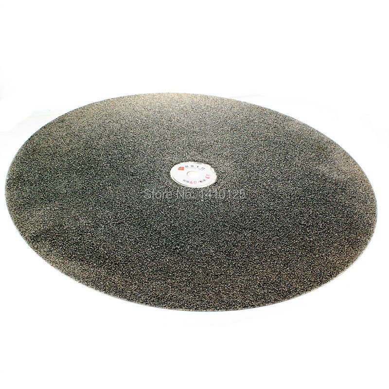 16 inch 400mm Grit 46 Very Coarse Diamond Flat Lap Disk Coated Grinding Disc Wheel Tools for Stone Jewelry Glass Tile Ceramics 3pcs 2 6 inch grit 240 600 1000 kit thin flat diamond stone sharpeners knife fine medium coarse