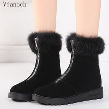 цены Fashion New Winter Snow Boots Women Fur Keep Warm Shoes Woman Shoe Lady wo1808186