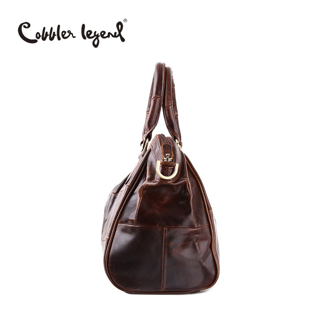 Cobbler Legend Brand Design Women's Handbags Shoulder Retro Genuine Leather 2017 New Arrival Women Messenger Bags Handbag 804217