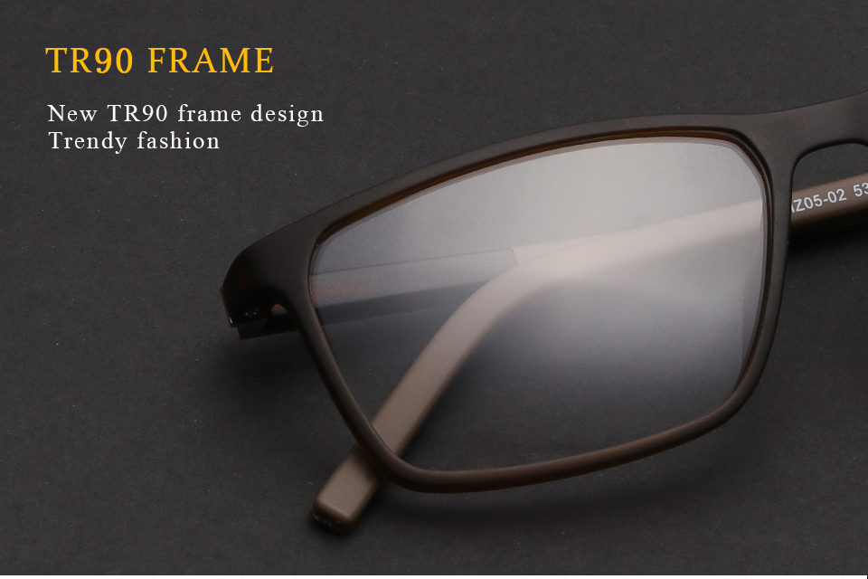 6f68faff448 Detail Feedback Questions about TR90 Eyeglasses Frame Men Simple ...