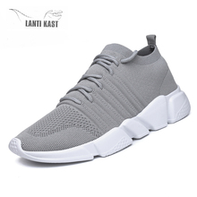 Plus Size 39-48 Summer Mesh Sports Men Sneakers Fashion Outdoor Running Shoes Casual Mens Comfortable Light Basket