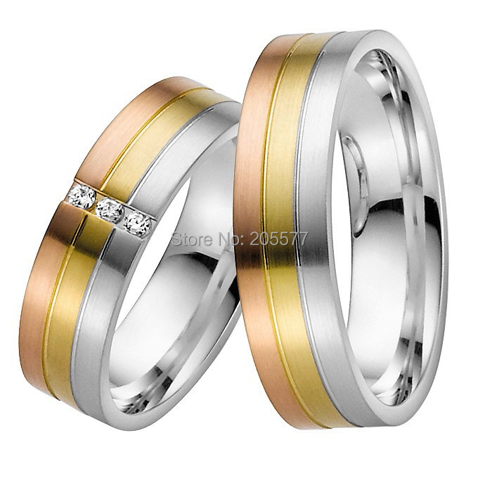 high end custom size His and Hers Matching Promise Rings jewelry couple rings sets for couples 2015