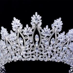 Image 5 - Tiaras และ Crowns HADIYANA คลาสสิกใหม่แฟชั่นการออกแบบเจ้าสาวอุปกรณ์เสริมผมจัดงานแต่งงานผู้หญิง BC5070 Corona Princesa