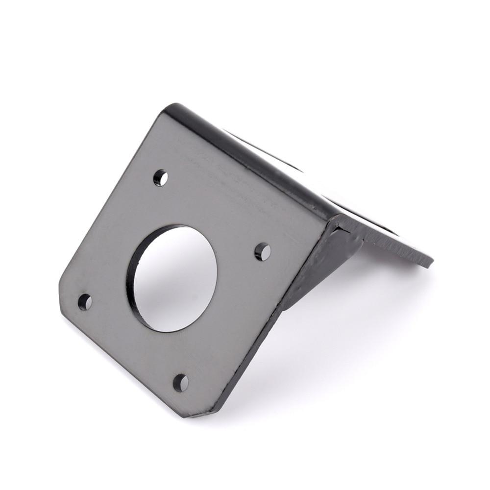 For 42mm NEMA17 Stepper Motor Alloy Steel Mounting Bracket with Screws 5x5x5cm