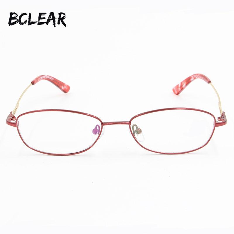 BCLEAR Top Quality Full rim metal optical frame Glasses for women Comfortable Hot Selling Glasses Prescription Eyeglasses