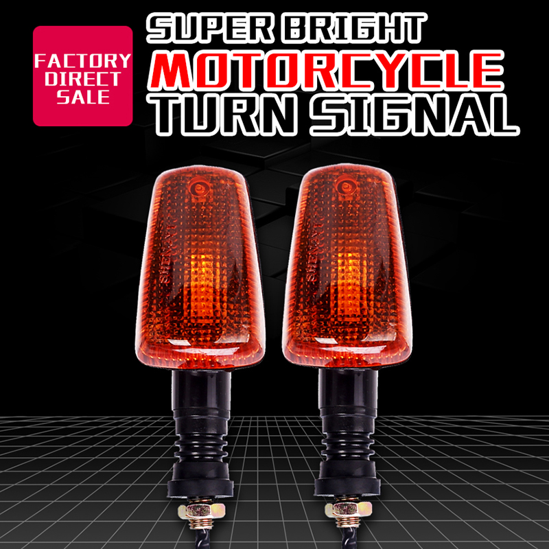 1 Pair Motorcycle steering lamp Cornering Turn Signals Indicator Light Front And Rear For YAMAHA XJR1200 XJR400 SRX250 SRX600