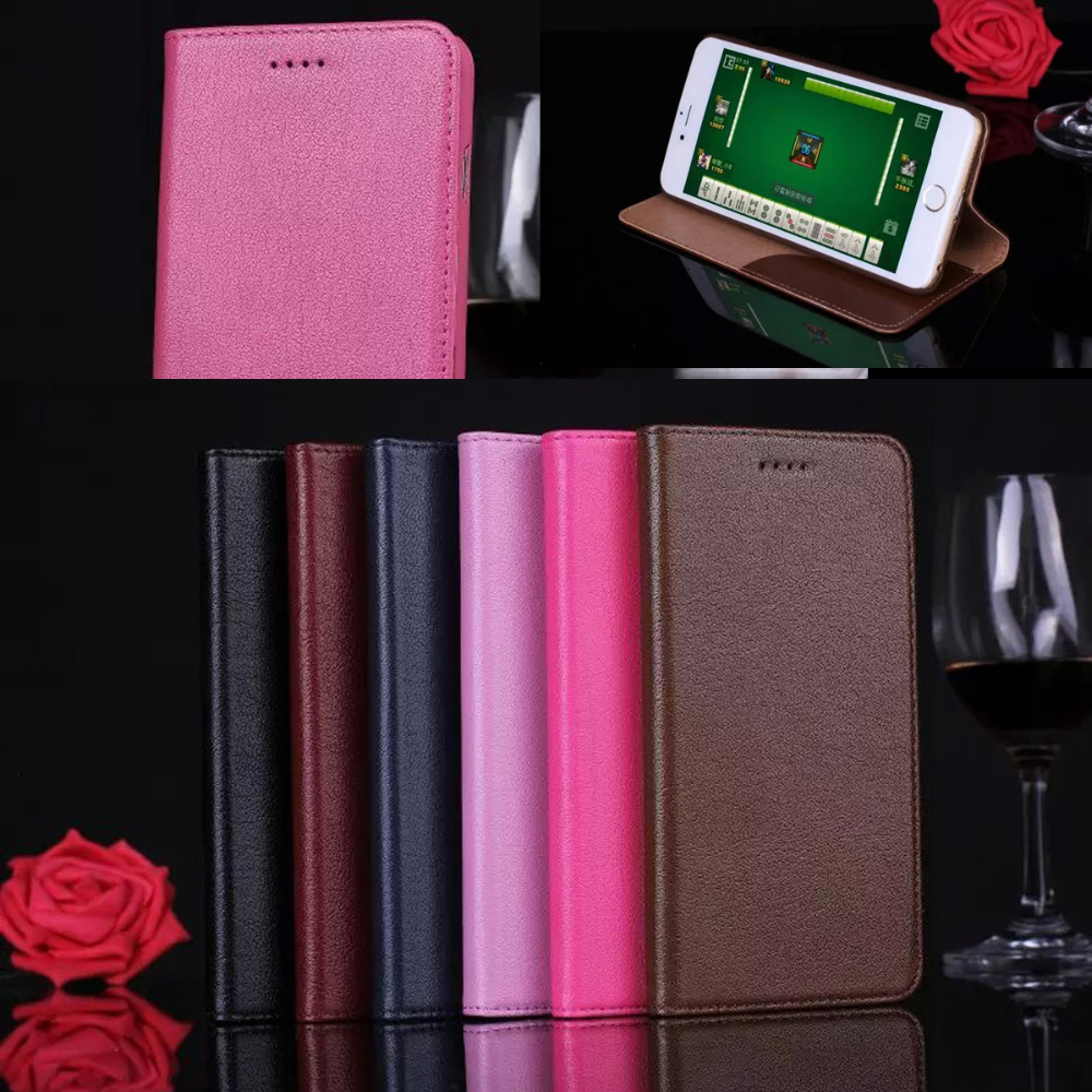 Case Coque For IPhone 6 4 7 Inch Deluxe Lasherweave Genuine Leather Case For Apple Iphone