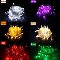 1 peças de 100 LED 10 m led Luz led String para Festa de Casamento Férias levou natal iluminação Frete grátis zk64