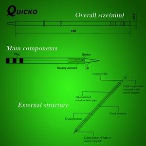Image 5 - Железная насадка для пайки FX951 STC и STM32 OLED, Серия D, форма, наконечник для паяльника, для D4, 1, 5, 5, 5, 5, D24, D16, 5, 8, T08, T12, STC и STM32