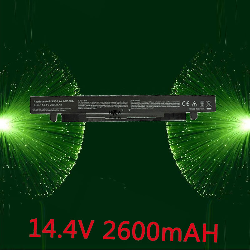 цена на HSW 4cells Battery For Asus A41-X550 A41-X550A A450 A550 F450 F550 F552 K550 P450 P550 R409 R510 X450 X550 X550C X550A X550CA